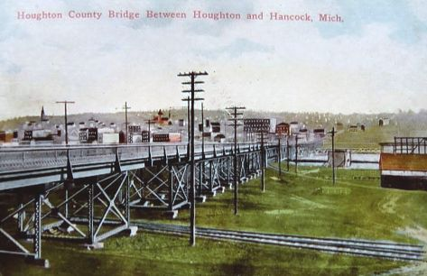 Portage Canal Bridge 1912
